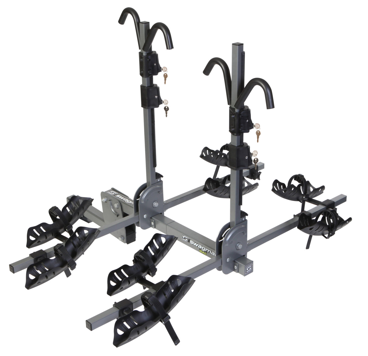 Quad 2 + 2 Bike Rack Hitch Mount