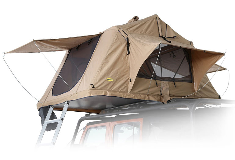 Smitty Built Overland Rooftop Tent