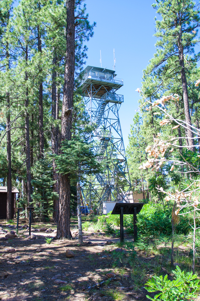 Gentry Lookout Fire Tower at Black Canyon Lake