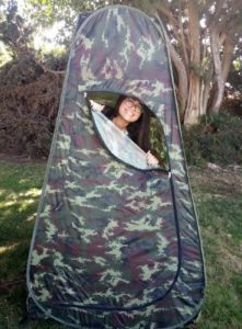 Privacy Pop Up Tent for CampingToilet setup