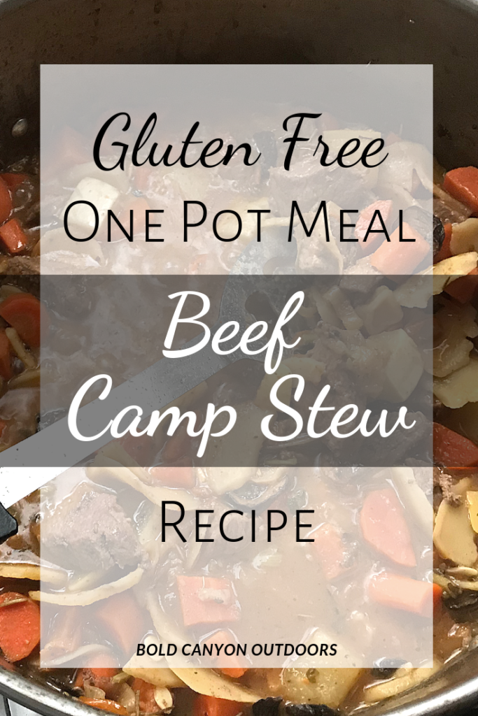 Gluten Free Beef & Vegetable Stew One Pot Meal
