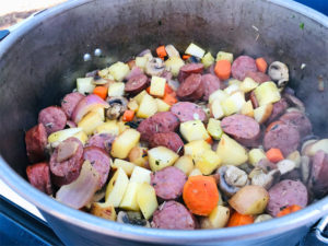 One Pot Meal - Camp Skillet Recipe