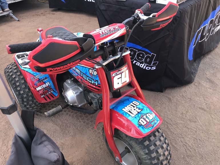 Three Wheel Motorcycle, Throw back
