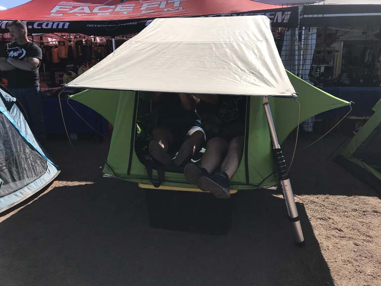 Greenline Tents at the Off-Road Expo in Payson, AZ