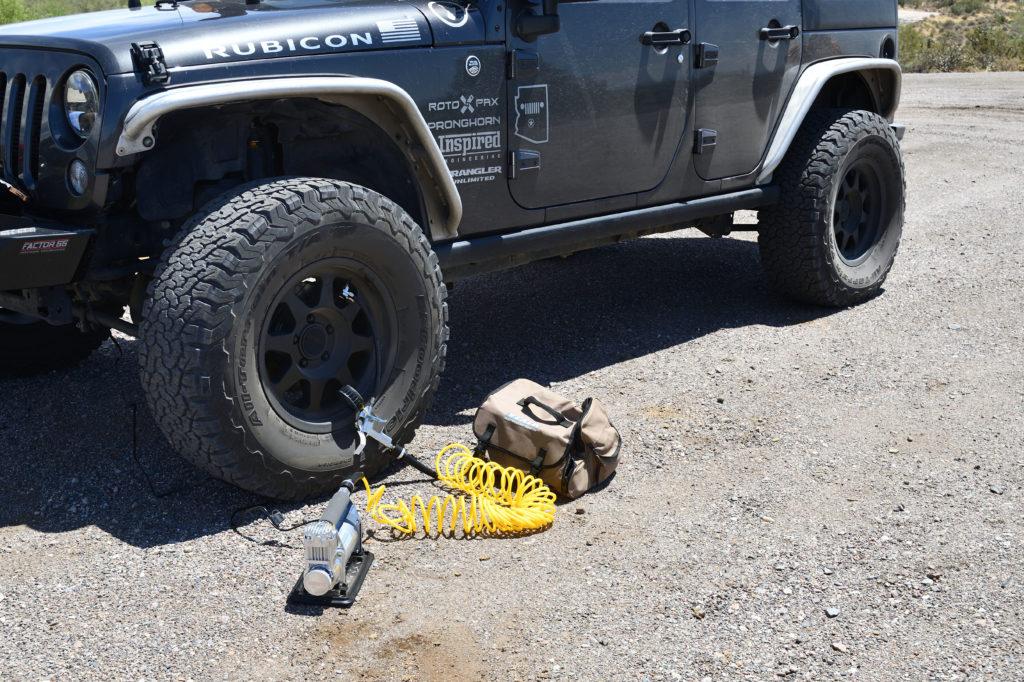 Viair Air Down Jeep Tires