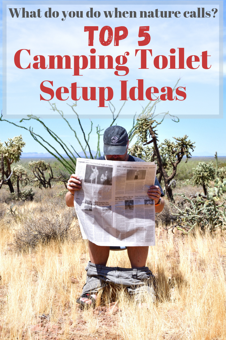 Top 5 Camping Toilet Set Up Ideas