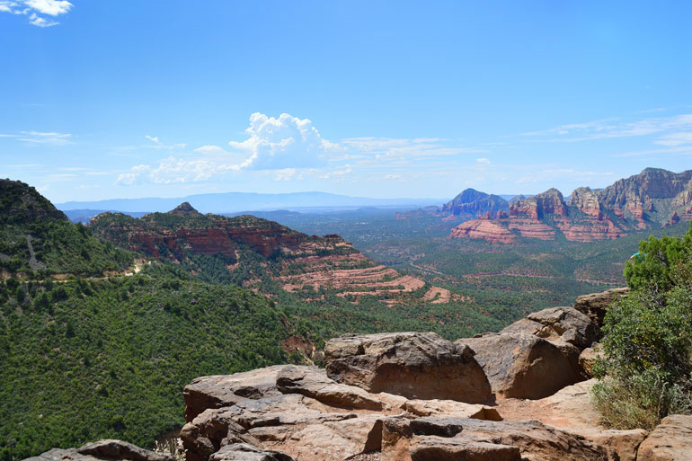 A View from the Merry-Go-Round in Sedona, Arizona