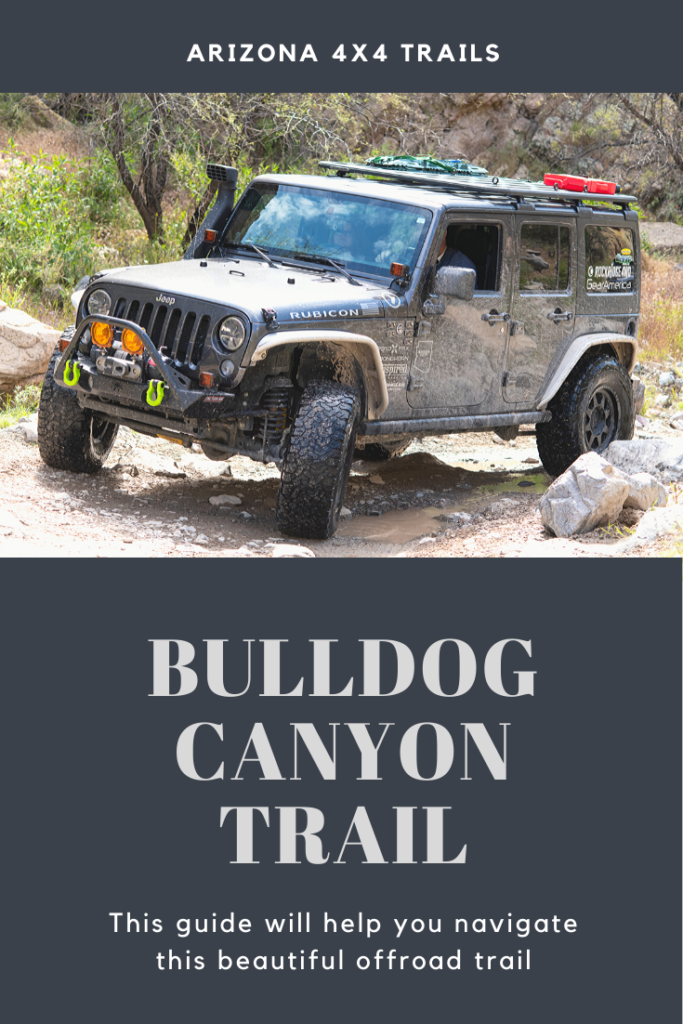 Arizona Offroad Trails - Bulldog Canyon Trail