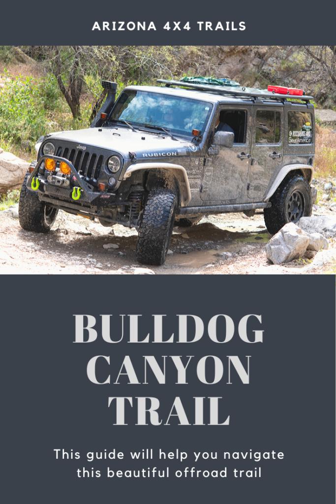Arizona Offroad Trails - Bulldog Canyon Trail