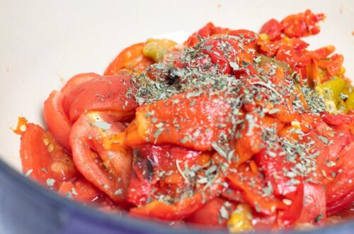 Roasted Red Pepper Recipe Dehydrated