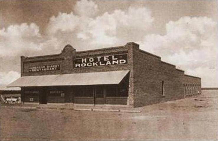 Hotel Rockland in 1920's located near Red Rock Arizona