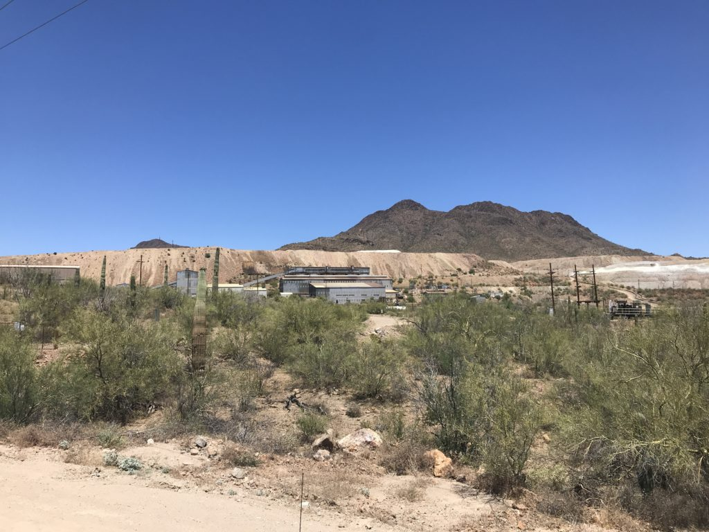 The Silver Bell Mine near Tucson Arizona