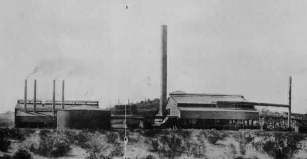 Sasco Smelter in 1910