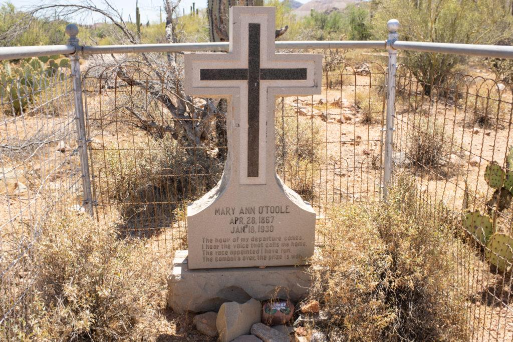 Silver Bell Cemetary near Sasco Arizona