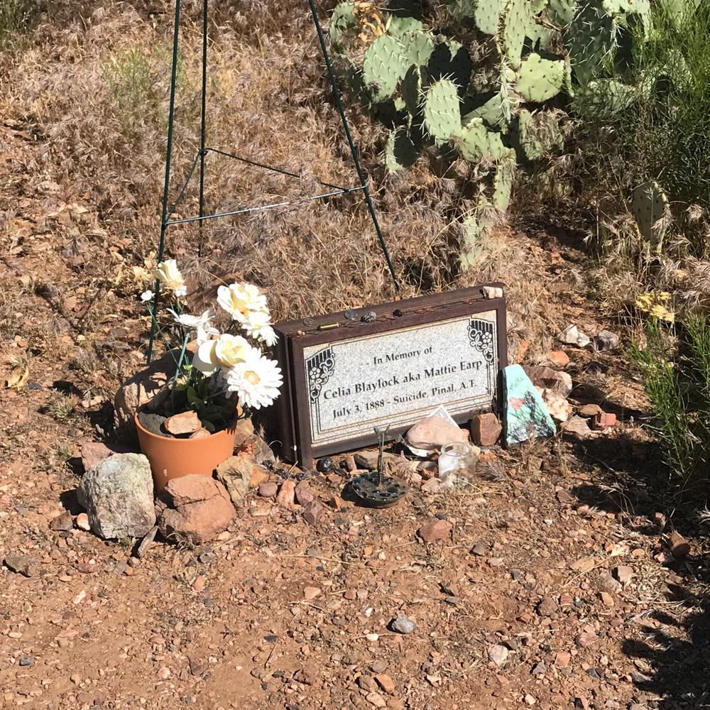 Mattie Earp's Grave Marker
