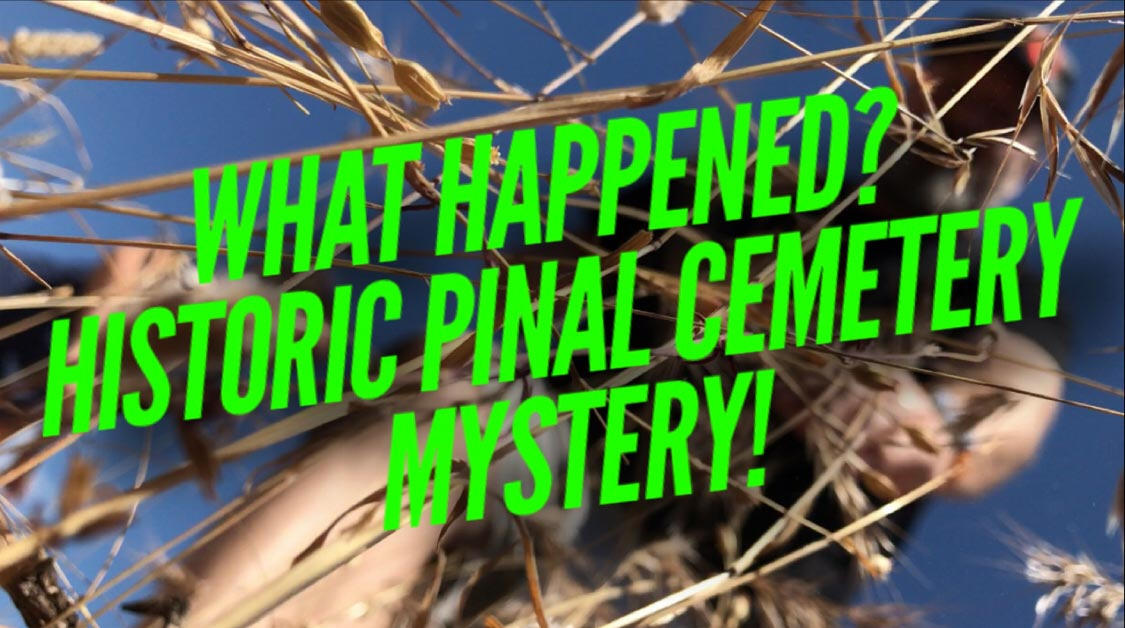 Haunted Historic Pinal Cemetery