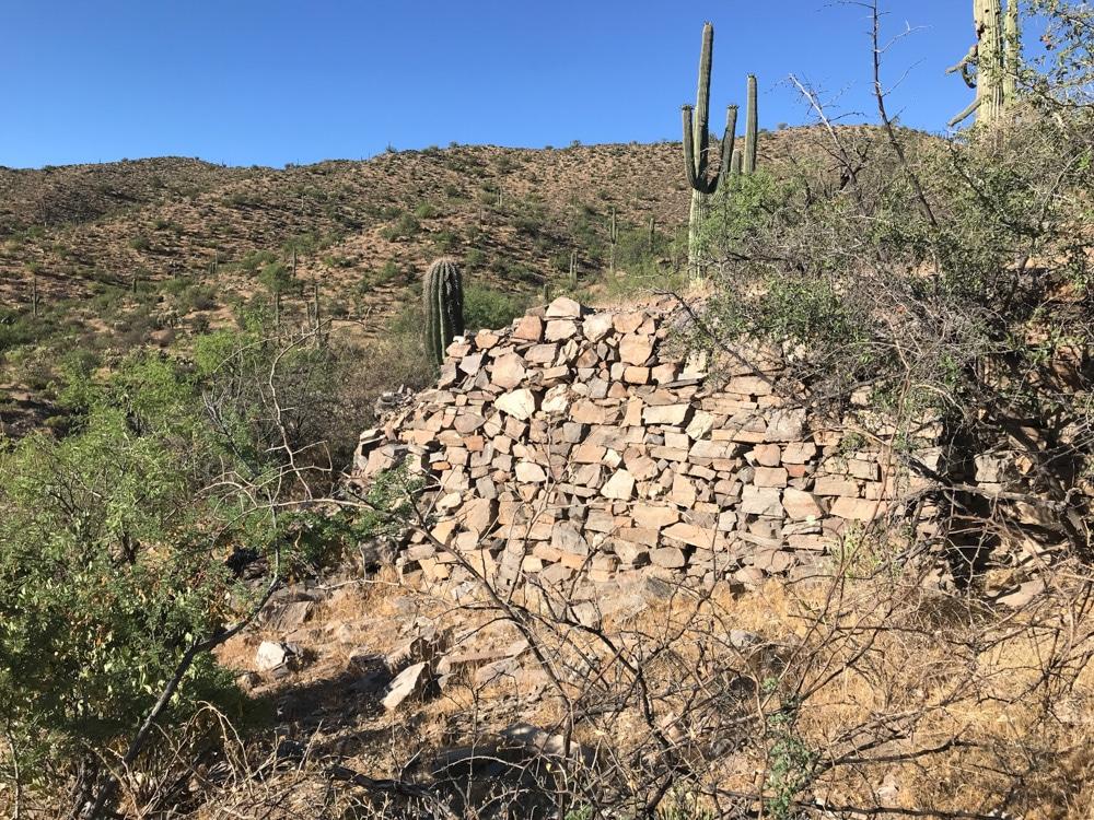 Reymert DeNoon Arizona stone wall ruins