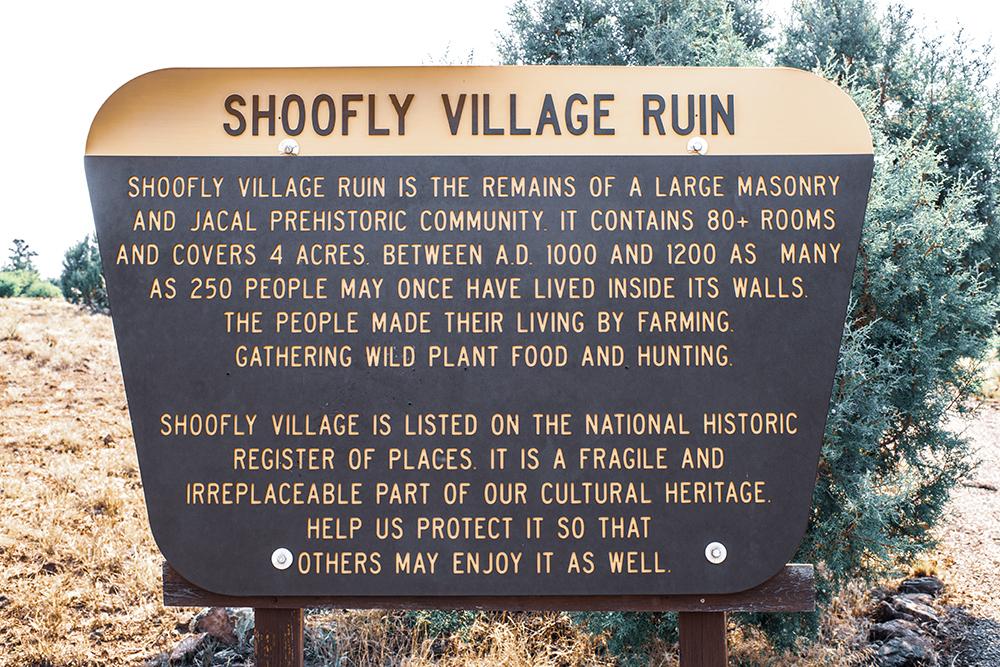 Shoofly Village Ruin Payson Arizona