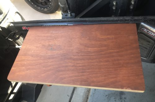 DIY Jeep Tailgate Table Build